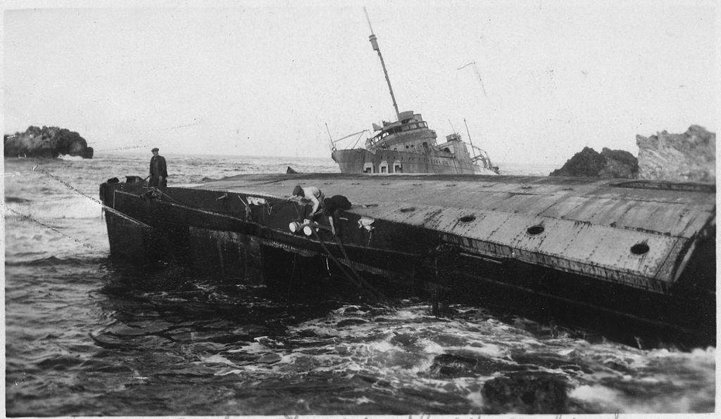 102px point honda shipwreck lompoc CA