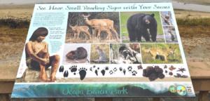 Ocean beach park placard lompoc Ca