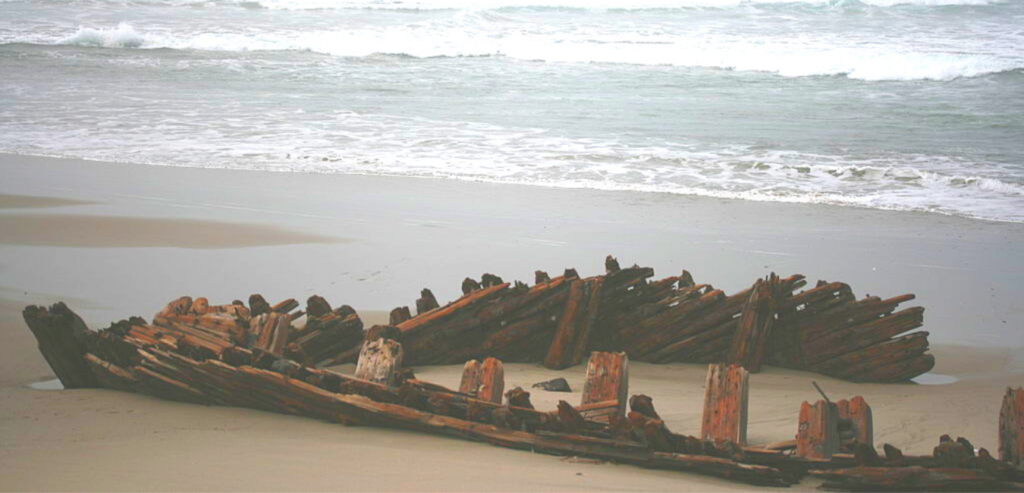 Sibyl Marston shipwreck ocean beach park Lompoc CA