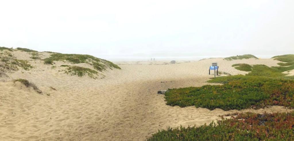 Surf Beach entrance ocean beach park lompoc CA