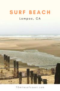 surf beach santa ynez river lompoc CA
