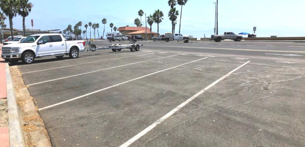 Oceansie harbor parking spot