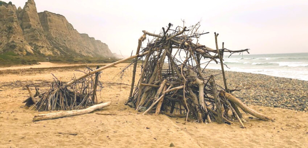 Saint onophrius hut san onofre state beach