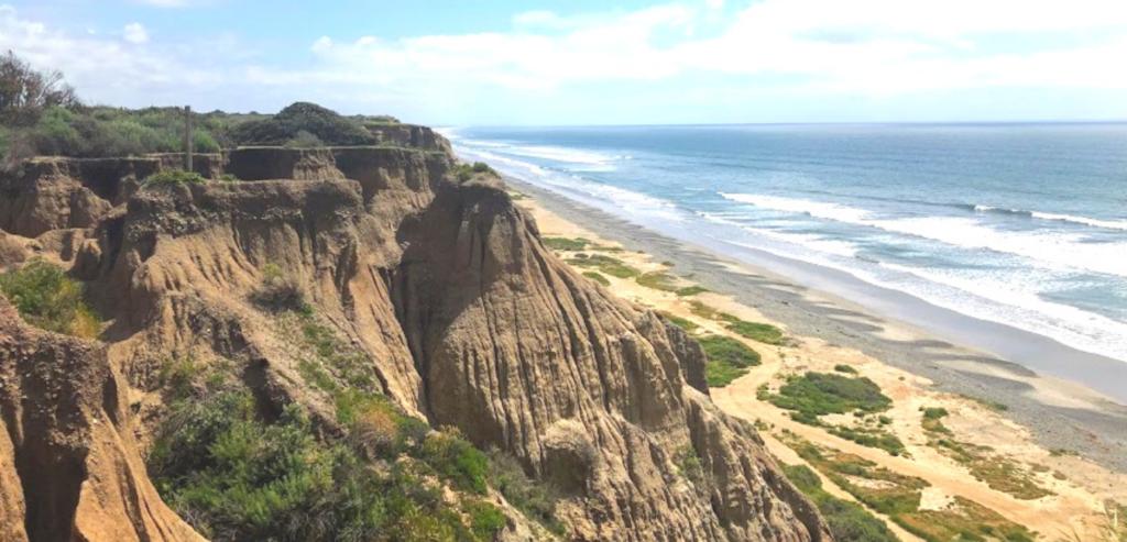 south boundary bluffs beach san onofre
