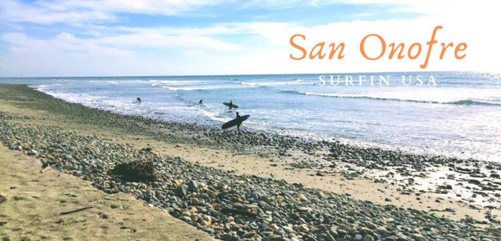 San Onofre Beach Boys beach song lyrics