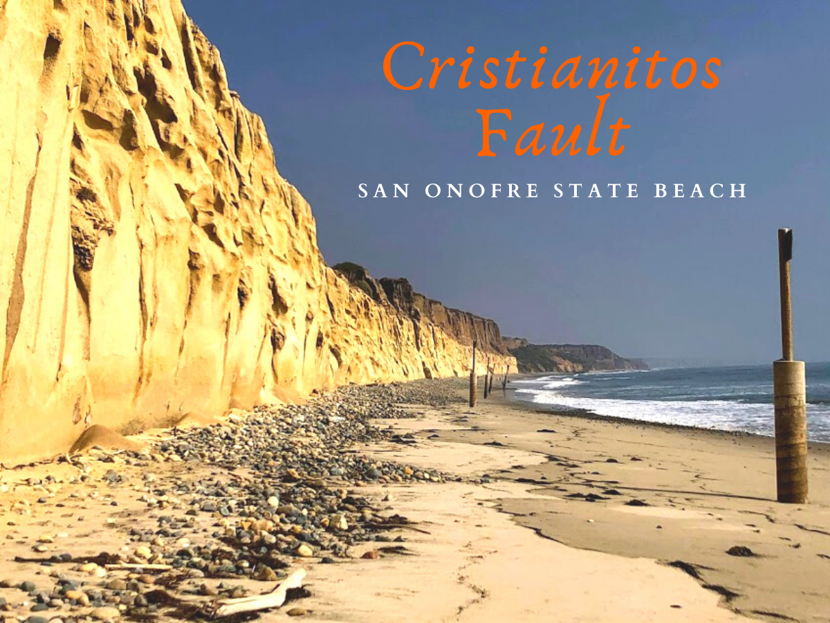 Cristianitos Fault san onofre state beach
