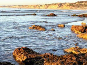 la jolla shores november rocks ocean beach