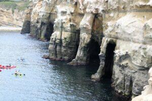 la jolla caves san diego king tide