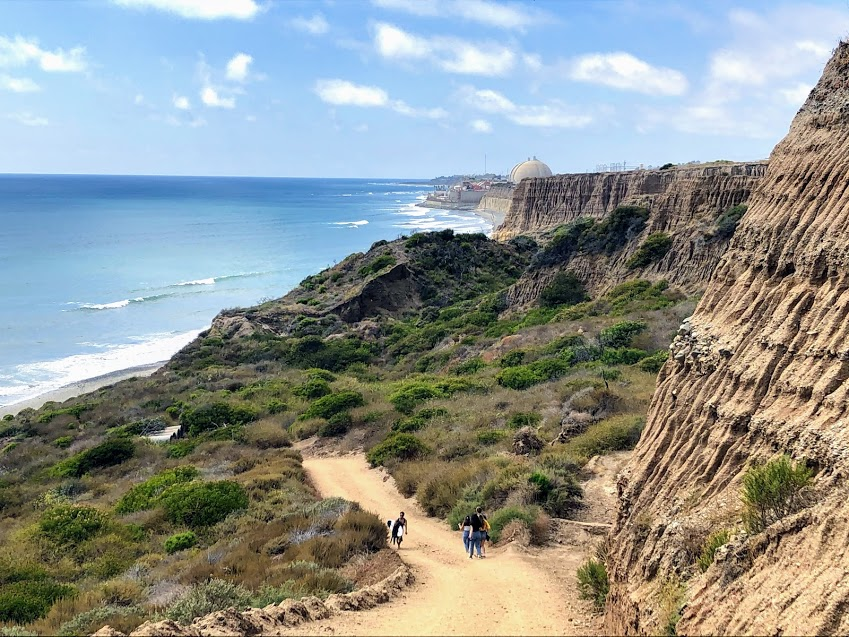 Trail One Cristianitos fault san onofre state beach
