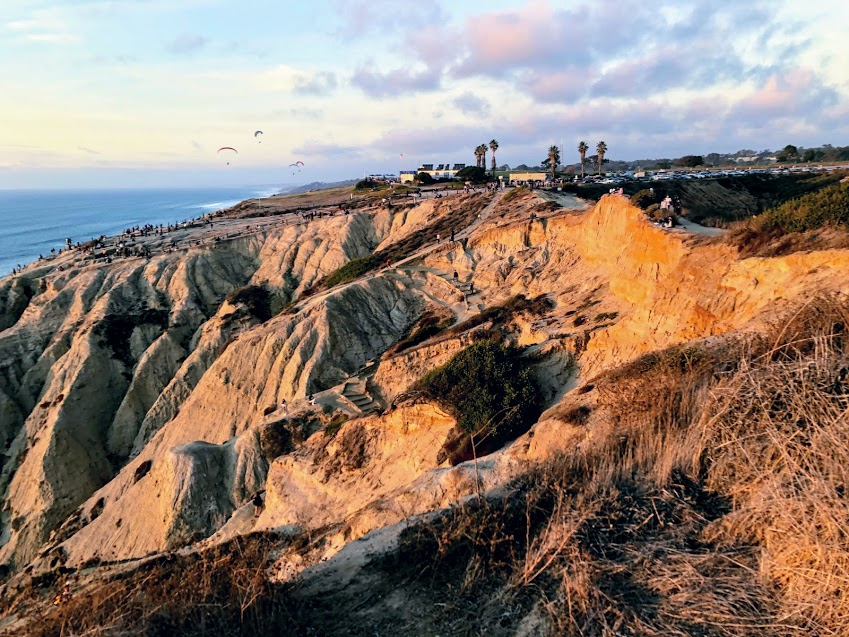 Gliderport Blacks Beach Overlook san diego hidden gems