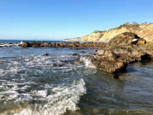 Scripps coastal marine conservation area dike rock
