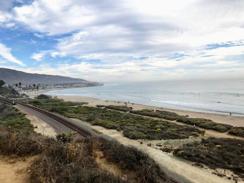 coastal strand trestles middles san onofre state beach