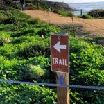 Trail sign 2020 sunset cliffs natural park