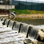water overflow weir buena vista lagoon