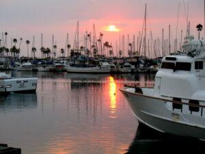 2014 sunset oceanside harbor sunset pink water