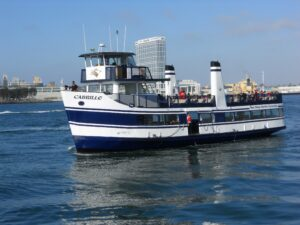 cabrillo 2010 harbor cruise vessel san diego bay