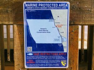 swamis marine protected map