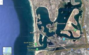 mission bay map fiesta island san diego