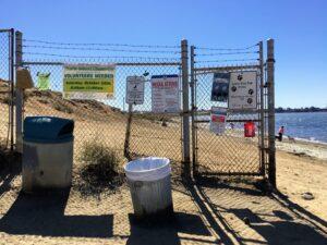 dog beach fence fiesta island