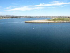 fiesta island 1 seaworld sky ride view