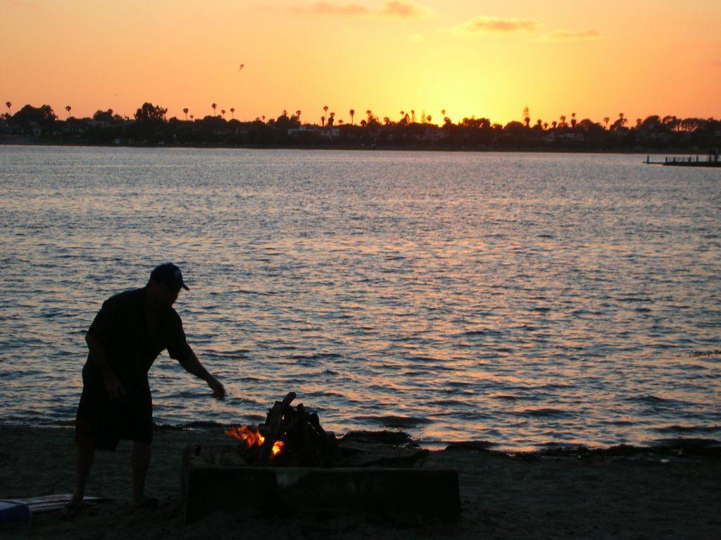 fiesta island sunset mission bay park