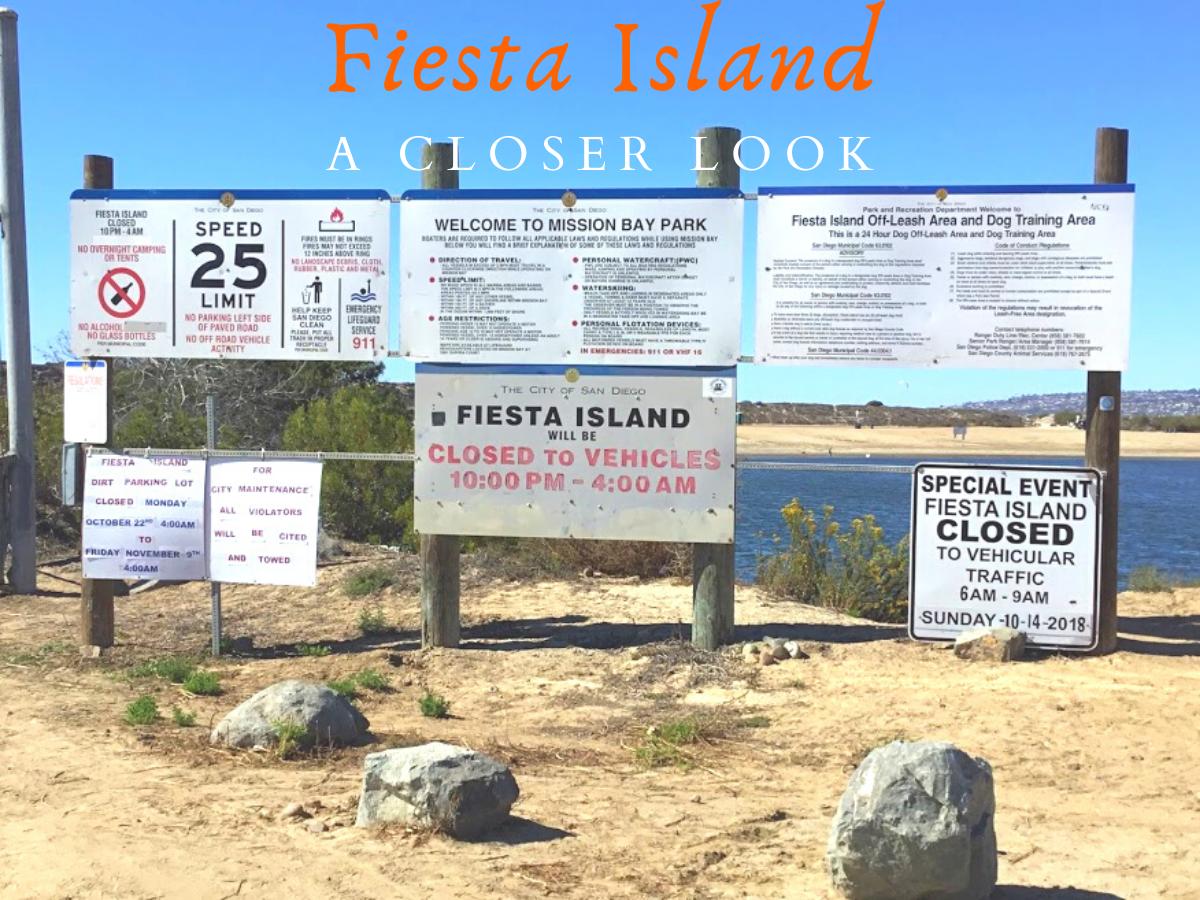 Fiesta Island entrance mission bay san diego
