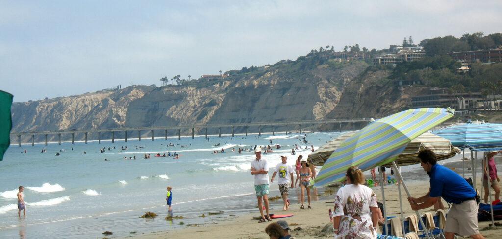 La Jolla Shores beach san diego