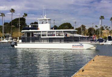 Oceanside Harbor tour boat san diego beaches